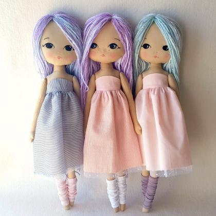Sparkle Starling Doll pdf Pattern