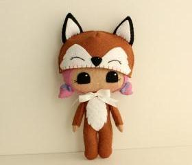 Peek-a-Boo Fox pdf Pattern