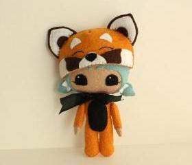 Peek-a-Boo Red Panda pdf Pattern