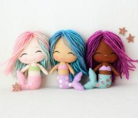 Chibi Mermaid pdf Pattern
